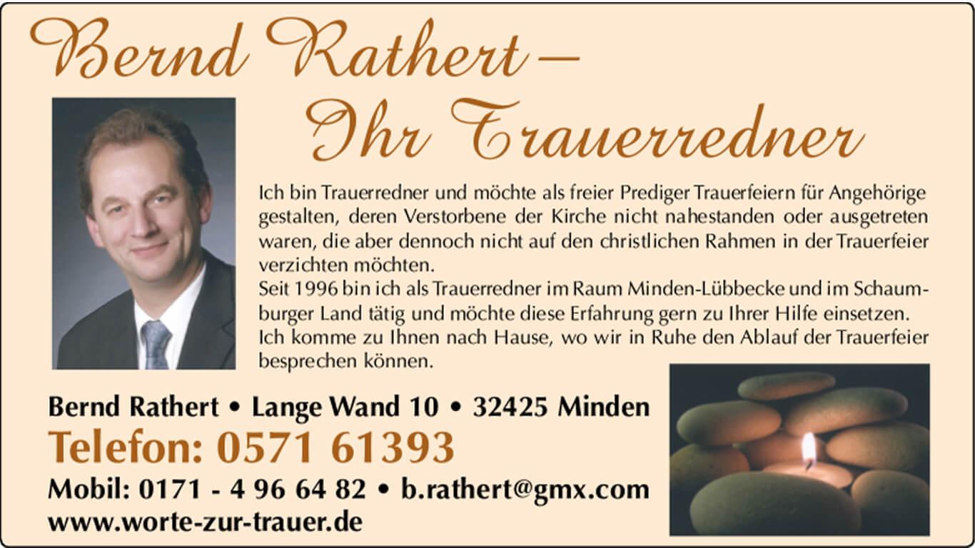 Logo Bernd Rathert Trauerredner