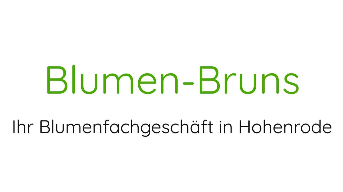 Logo Blumen Bruns